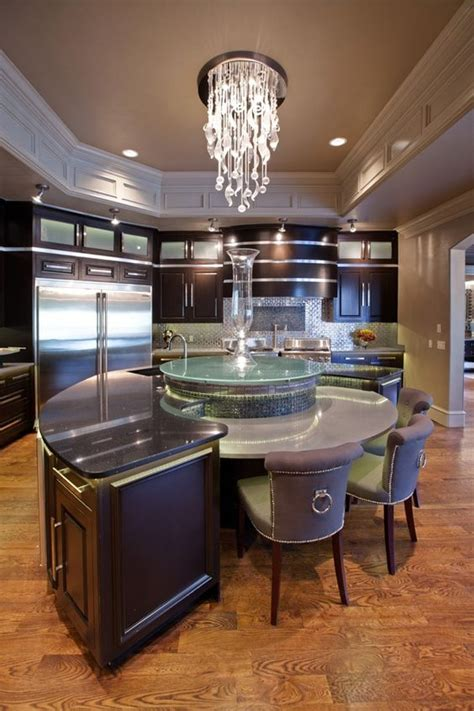 20 Modern Kitchens With Curved Kitchen Islands - Page 2 of 3