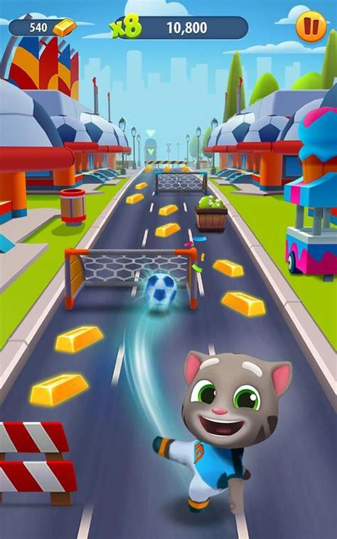Talking Tom Gold Run APK Download - Free Action GAME for