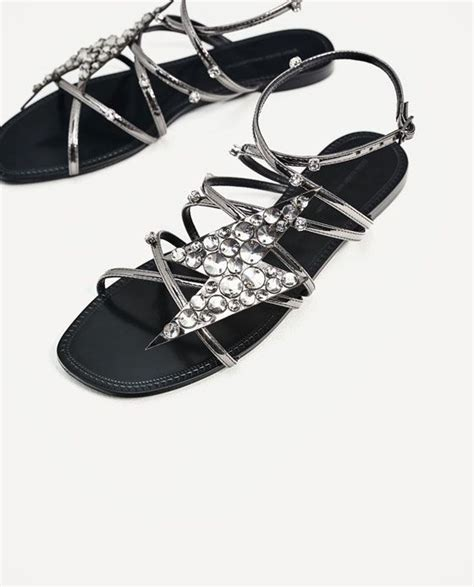 Image 7 of SANDALS WITH LIGHTNING DETAIL from Zara (With