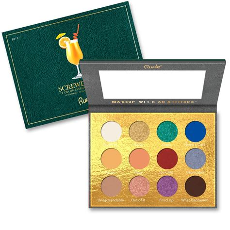 Rude Cosmetics Cocktail Party Color Eyeshadow Palette