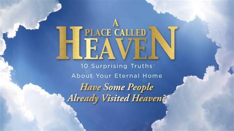 Have Some People Already Visited Heaven? · First Baptist