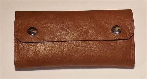Leather fly wallets - Custom Fly Fishing Rods by Chris