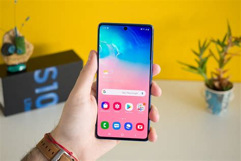 Samsung's Galaxy S10 Lite is a little late and a little