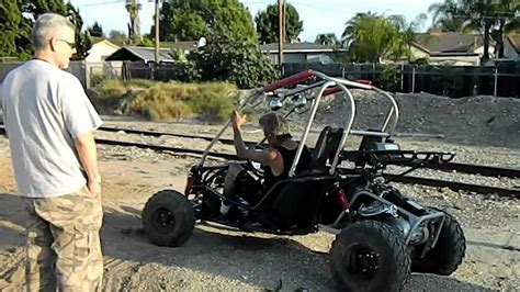 150cc ENGINE BIG BORE UPGRADE in POWER BUGGY CRASH to