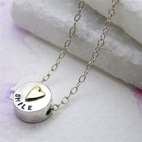 Personalised Pill Necklace By Soremi Jewellery
