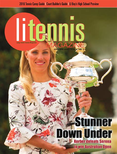 Long Island Tennis Magazine March / April 2016 by United
