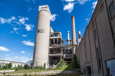 Old abandoned factory outdoors free image download