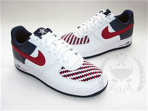 """Nike Air Force 1 Low """"USA Woven""""   HYPEBEAST"""