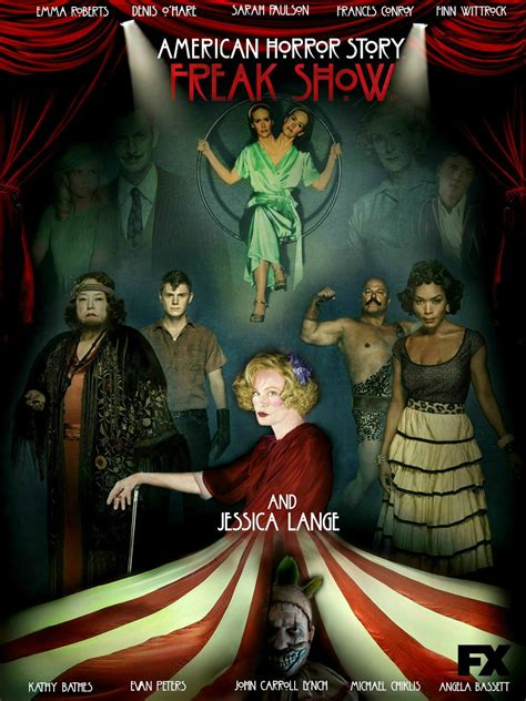 AMERICAN HORROR STORY: FREAK SHOW comes to UK Blu-ray 26th