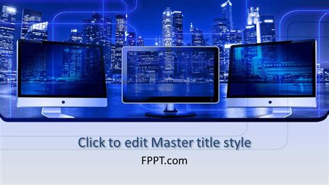 Free Data Security PowerPoint Template - Free PowerPoint