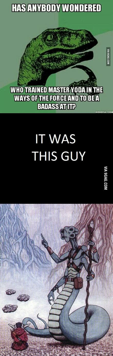 To the guy who wandered about yoda's master