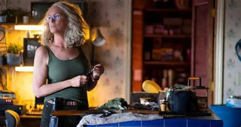 New pic of Jamie Lee Curtis as Laurie Strode from new